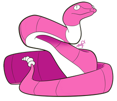 023 - Ekans by the-Mad-Hatress
