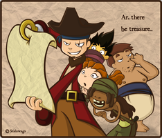 Ye Treasure Map by scalawags