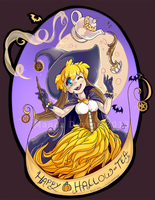 Happy Hallo-tea by a-fools-paradise