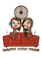 Happy New Year from Panchaos by LineBirgitte