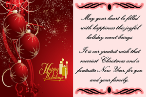 Christmas Greeting Card II by ZandKfan4ever57