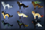 Assorted Canine adopt batch! CLOSED by Capukat
