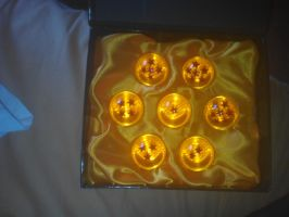 the Dragon Balls :'D by Aroa-Samanta