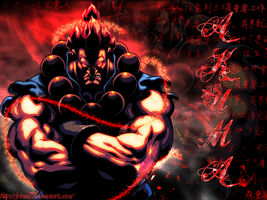 Akuma Wallpaper by jrinoa