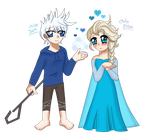 Jelsa: Oh it's lovely Jack OwO by Garfield141992
