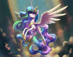 RAY OF LIGHT by Celebi-Yoshi