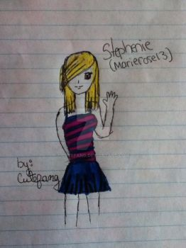 Stephenie (marierose13) by CuteFang