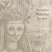 Versailles Photoshop Brushes by hogret