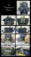 Thousand Sons - Land Raider by skycat
