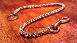 Chainmaille wallet chain by ulfchild