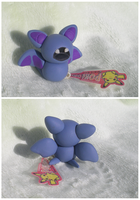 Zubat Pokedoll by Foureyedalien