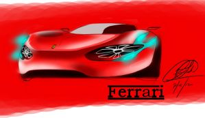 ferrari design by chrislah294