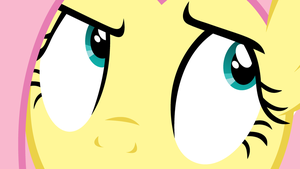 Wallpaper - Fluttershy eyes by Hubert205
