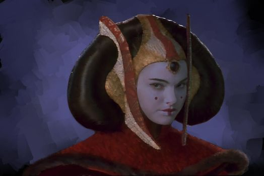 Princess Amidala by lSarra