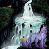 Fanta At the Falls by silvermoonfox