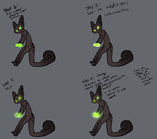 how I glow by TheseWeirdFishes