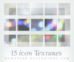 15 icon Textures .II by demeters