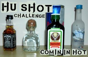 HU Shot Challenge #1:  Comin in Hot by HUKissy