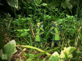 We are the Leaf Men by Pasiphilo