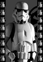 Stormtrooper Profile by Dext986