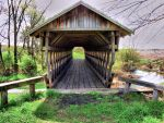 Covered Footbridge by old74
