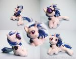 Lounging Vinyl Scratch by dustysculptures