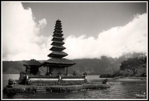 ... Temple on a Lake ... by JMckey