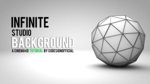 Infinite Studio Background - Cinema4d Tutorial by codesignofficial