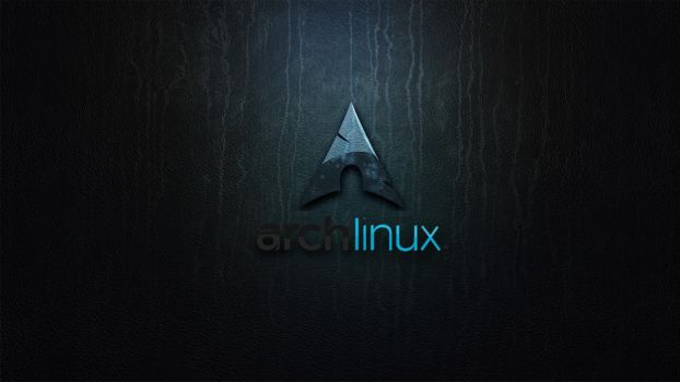 Archlinux on the wall by Zildj4n