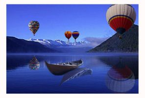 Balloon Race or  drifting by krazykel