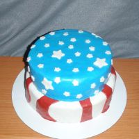 July 4th Cake by SarahMame