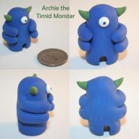 Archie the Timid Monster by TimidMonsters