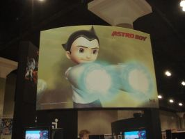 Astro Boy 3D Movie Poster by spinaroundthecat