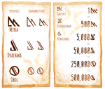 Sybal Heim Currency Guide by Art-Zealot