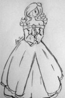 another rosalina drawing by PrettyLadyCosmos