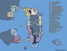 LEGO City Undercover Map by chadtalbot