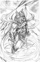 Thor Pencils by Csyeung