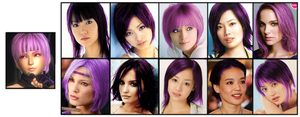 Take Your Pick - DOA Ayane by FalseDisposition