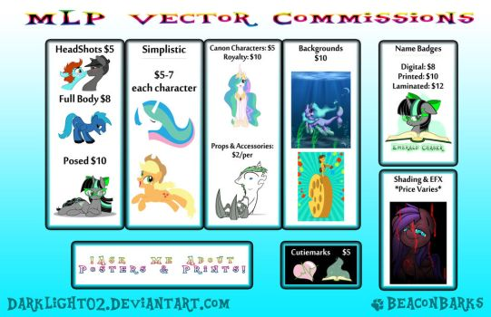 Commission Price List (Paypal) by DarkLight02