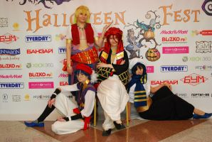 Free! ending cosplay, Halloween Fest 2013 by Shiera13