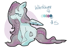 $5 PONY ADOPT: Windchime (CLOSED) by crovvn