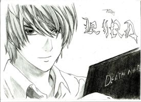Light Yagami  (Kira) by royalsmiley