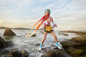 Final Fantasy X-2 - Rikku by vaxzone
