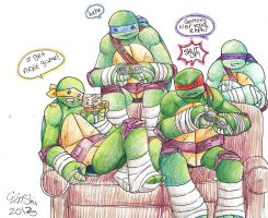 TMNT Next Game 2 by Tenshilove