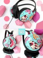 Koi headphones by Bobsmade