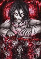 Blood Moon - Jeff the Killer by Curse-of-Lolth