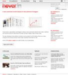 Hover.in - webpage redesigned by freakyframes
