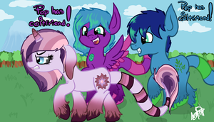 Pop has a coltfriend! by Amy-defy