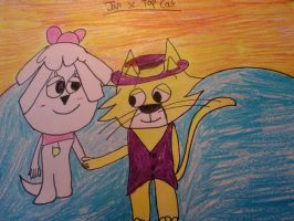 Top Cat x Jan :D by MewMewMinto1123