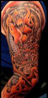 Dragon tattoo in prog by thirteen7s